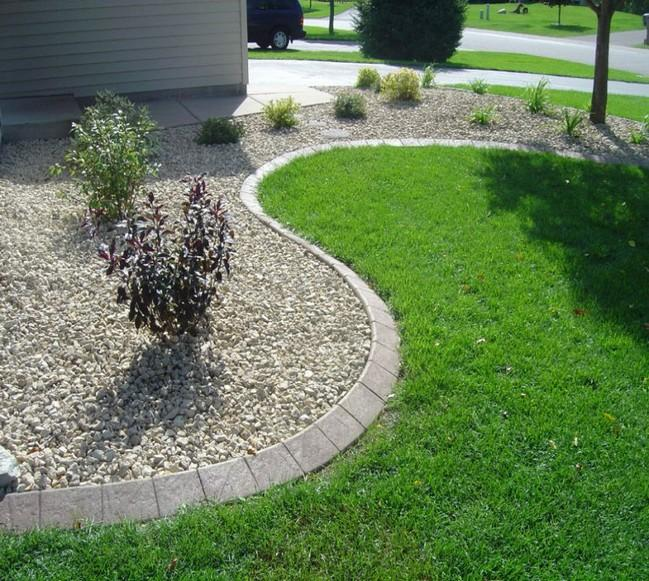 landscape edging picture by landscaping in port st lucie llc