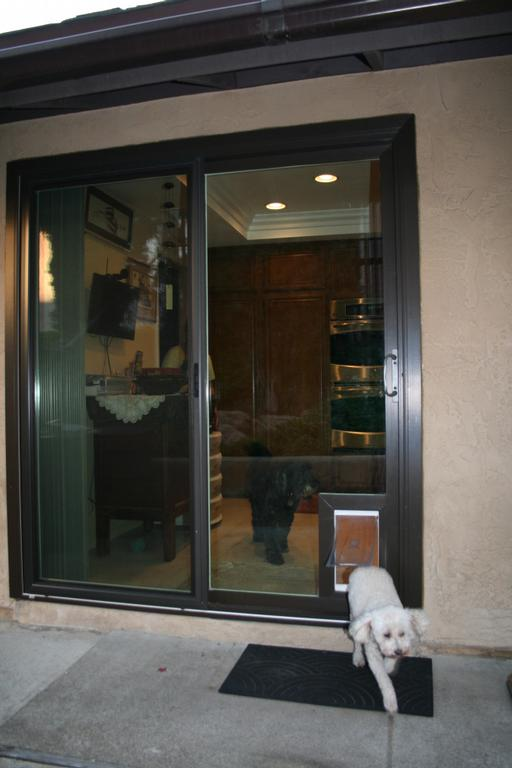 doggie door for sliding glass doors small security boss pet