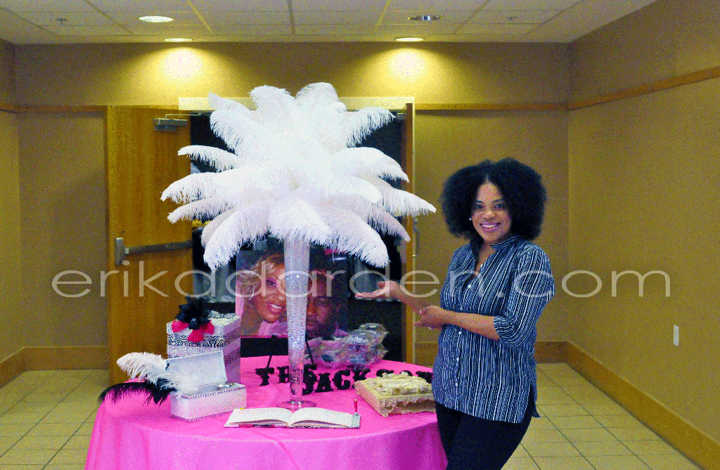 Wedding Reception Centerpieces Rent Ostrich Feather C Centerpiece