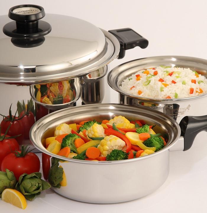 Kitchen craft cookware mount dora fl 32757 180 080 02850 for Kitchen craft waterless cookware