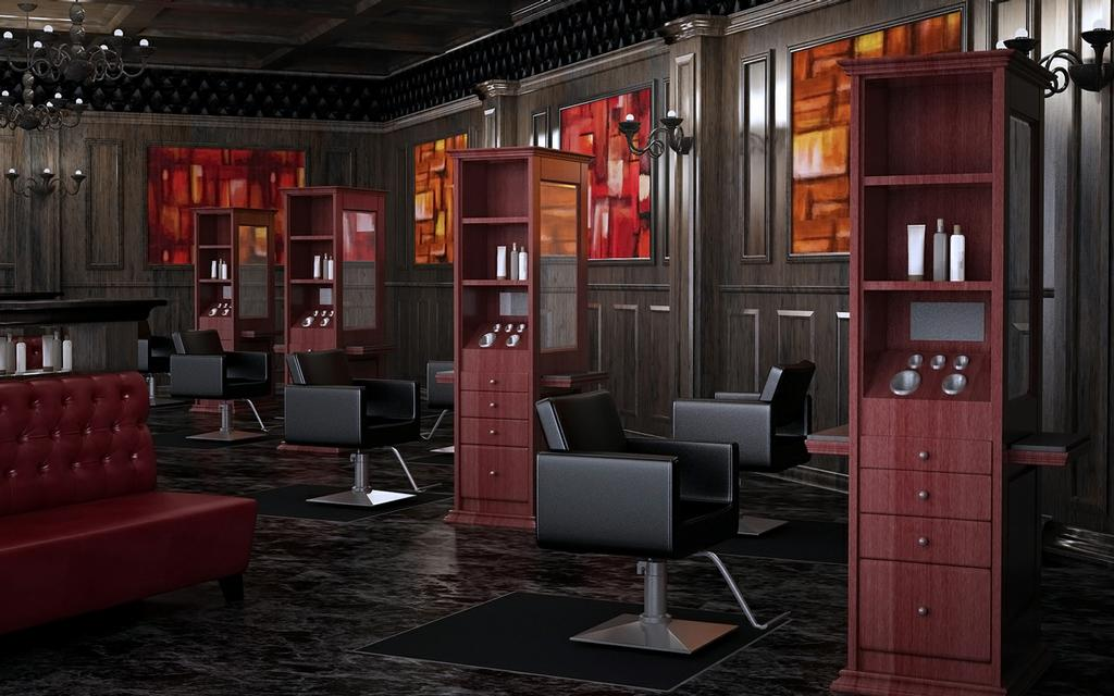 Pictures for standish salon goods in dallas tx 75226 for Modern salon furniture packages