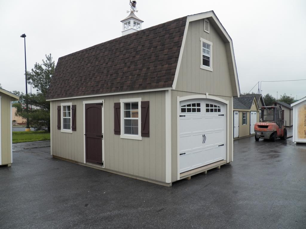 12x20 Gambrel Shed Plans