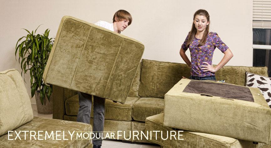 newport sectional sofa and ottoman set