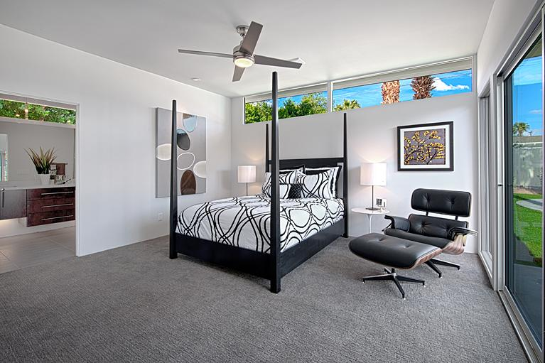 Staged Hugh Kaptur Master Bedroom From House Homes Palm Springs In Palm Springs Ca 92262