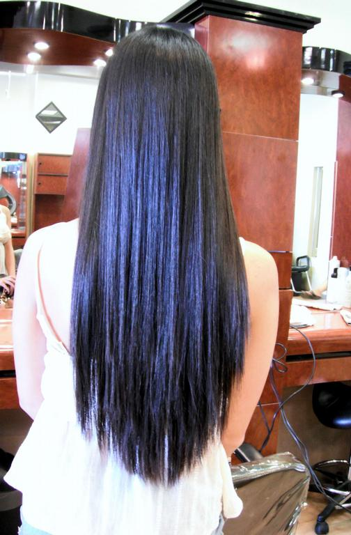 Permanent Hair Straightening Orange County hair salon Irvine from