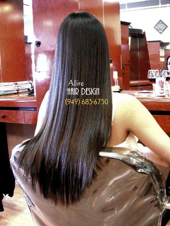 Japanese Permanent Hair Straightening Orange County
