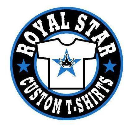 Royal star custom t shirts carrollton tx 75007 214 733 for Custom business logo t shirts