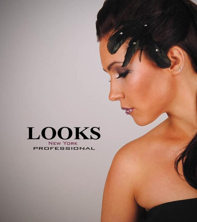 logo by LOOKS Makeup Services and e-Shop