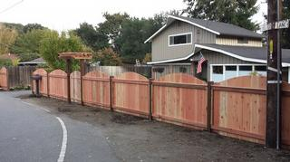 Reuben Borg Redwood Fence Pleasanton Danville San