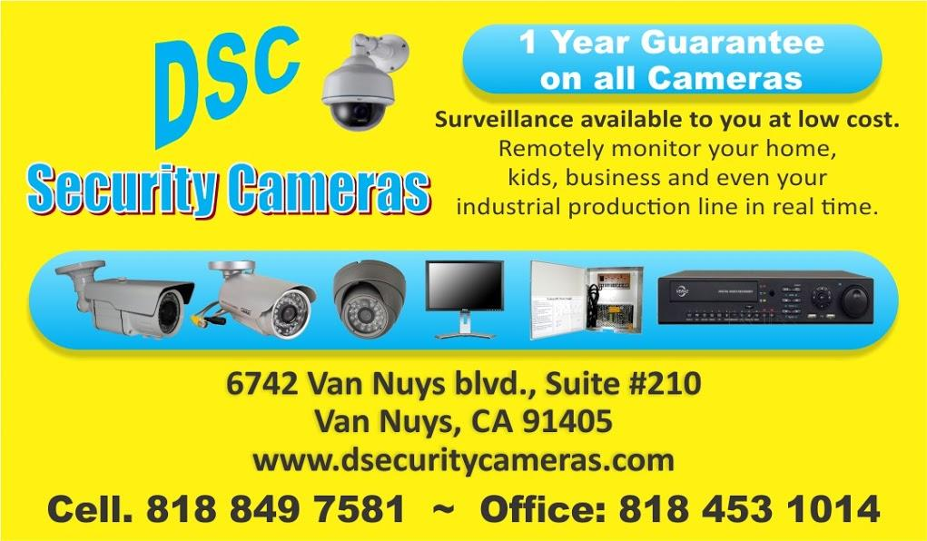 Duran security cameras van nuys ca 91405 818 453 1014 duran business card pg2 by duran security cameras reheart Choice Image