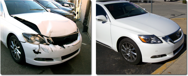 Jll auto body jersey nj before and after picture 7 from for Best auto body paint shop