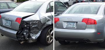 Jll auto body jersey nj before and after picture 1 from for Full body paint job