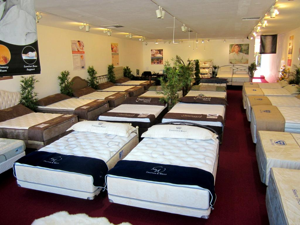 Whole Showroom From Los Angeles Mattress Stores Studio City Ca In Studio City Ca 91604