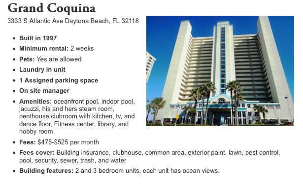 Grand Coquina Daytona Beach The Best Beaches In World