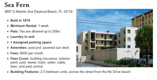 Beach Condo Near Daytona