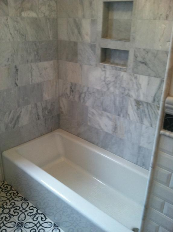Tub Surround In Marble From New Creations In Tile Amp Stone In Denver Co 80220