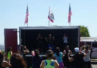 Event Stage Rental San Diego - Mobile Stage Truck - San