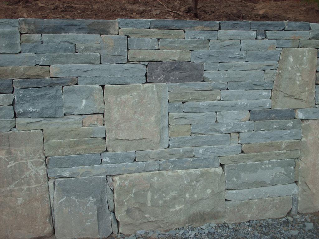 Bluestone Retaining Wall Lakegeorge Newyork 2 From