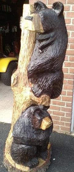 Pictures for jay s chainsaw carvings creations in