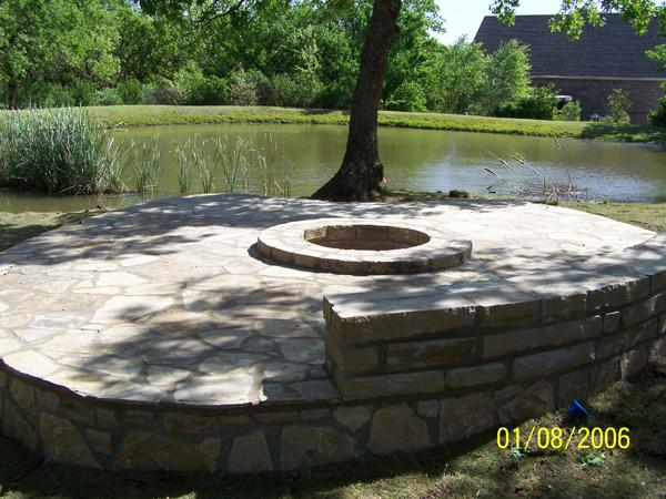 Fire Pit Problems Custom Landscape Fire Pit in
