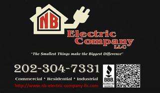 Nb Electric Company Llc Accokeek Md 20607 202 304 7331