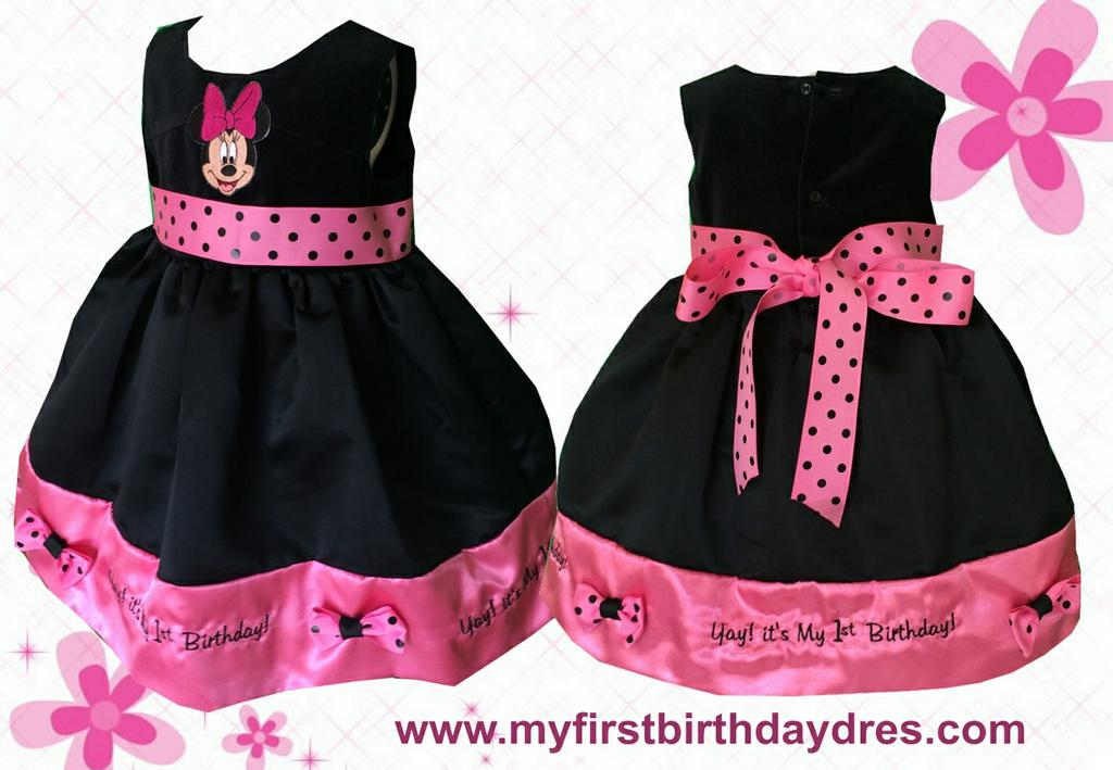 Minnie Mouse Birthday Party Dress Fashion Dresses