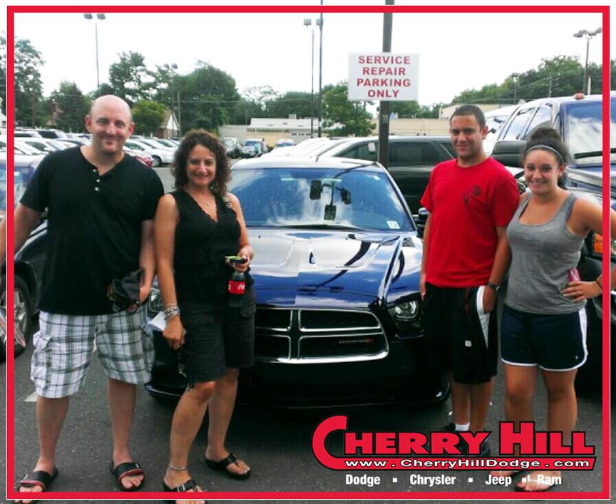 challenger sponsors his t the award cherryhilldodge dodge for gracie receives a cherry choice charger tom hill