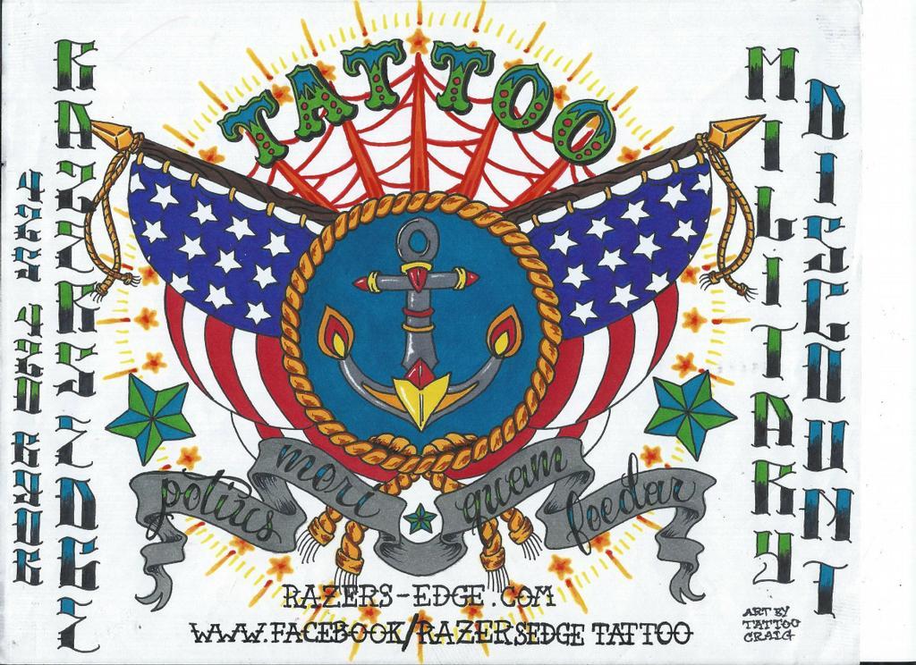 Razers edge everett wa 98208 425 420 6906 tattoos for Enemy tattoo everett