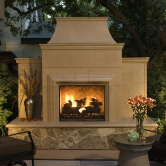 Outdoor Fireplaces Pre Cast Concrete Or Custom Built From Bbq Grill Outlet In Vista Ca 92083