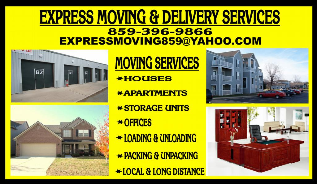 Express Moving And Delivery Services Lexington Ky 40517