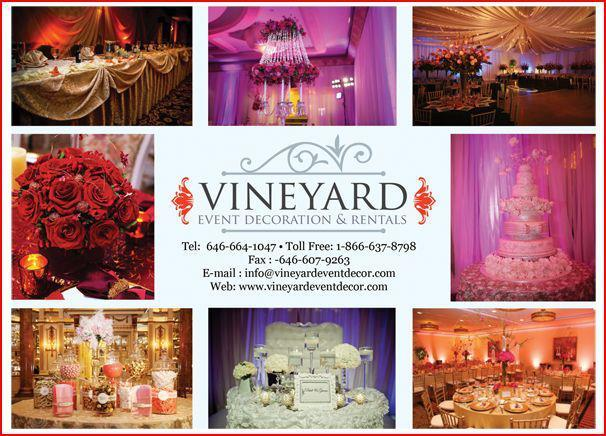 vineyard flyer from vineayrd event decor in new york ny 10001 rh merchantcircle com