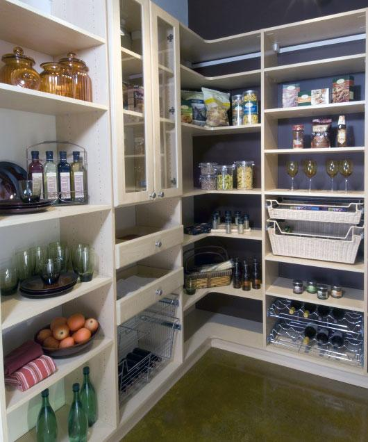 Pantry Walk In Closet system from California Closet Company in ...