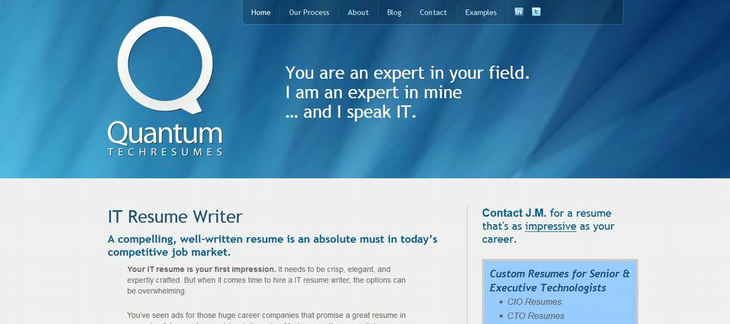 ... com Resume Services Colorado Springs CO Quantum Tech Resumes