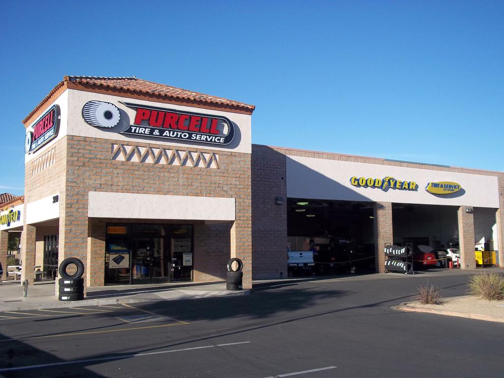 Purcell Tire and Service Center - Tempe AZ 85282 | 480-894 ...