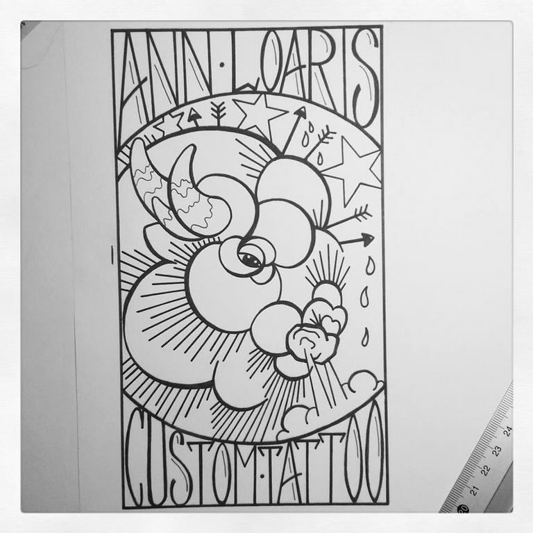 Custom Buffalo Alct Ann Loaris Custom Tattoo Logo Lincoln