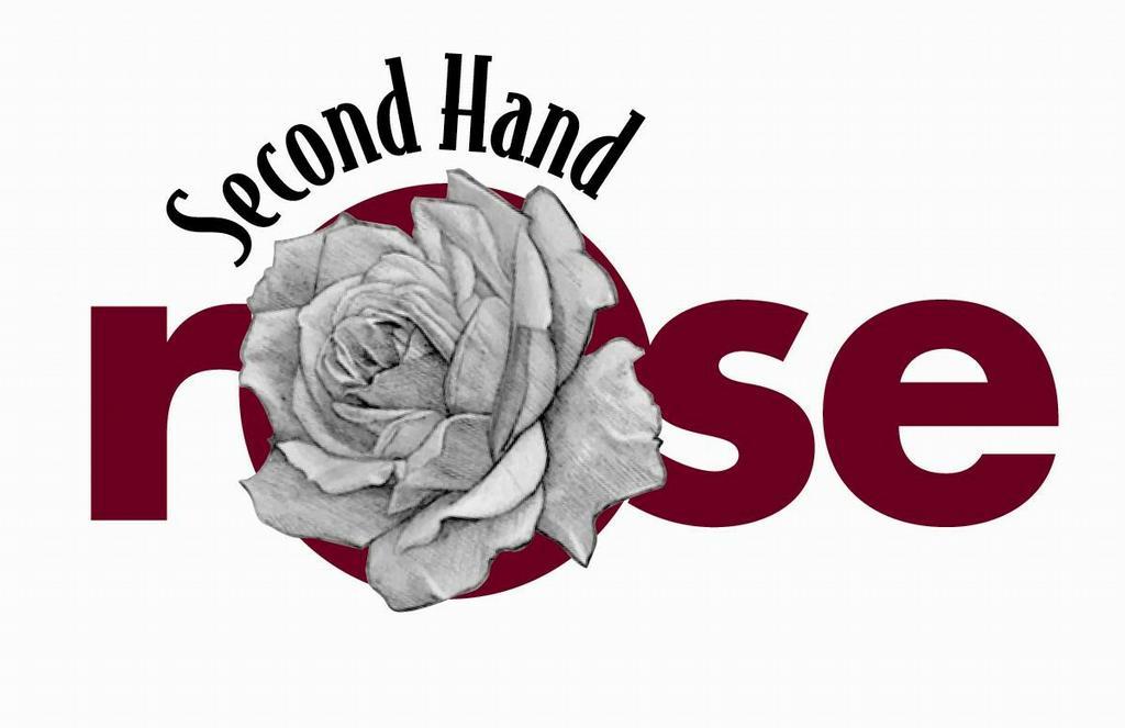Second Hand Clothes Logo Second Hand Rose Logo