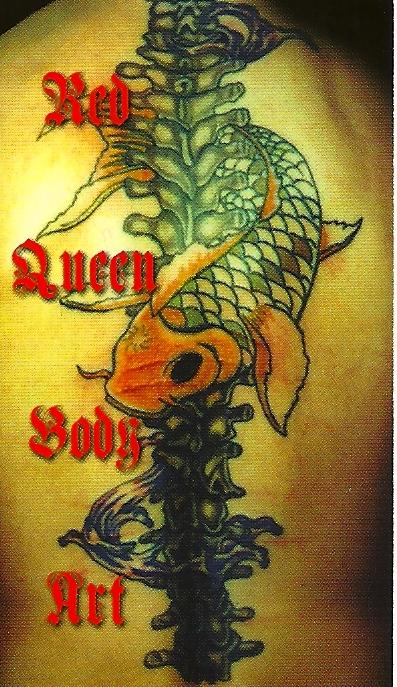 Red queen tattoo chattanooga tn 37411 423 622 6252 for Tattoo shops in chattanooga
