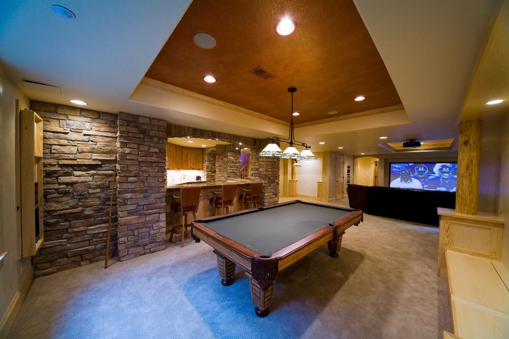 Pictures for colorado creations in englewood co 80111 Basement game room ideas