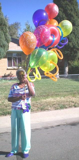 Special 73rd Birthday Balloon Delivery from BALLOONATICS in Denver