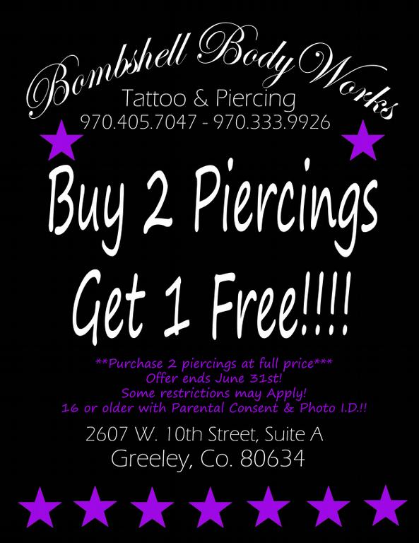 10 best tattoos and piercing services in greeley co for Tattoo shops in greeley