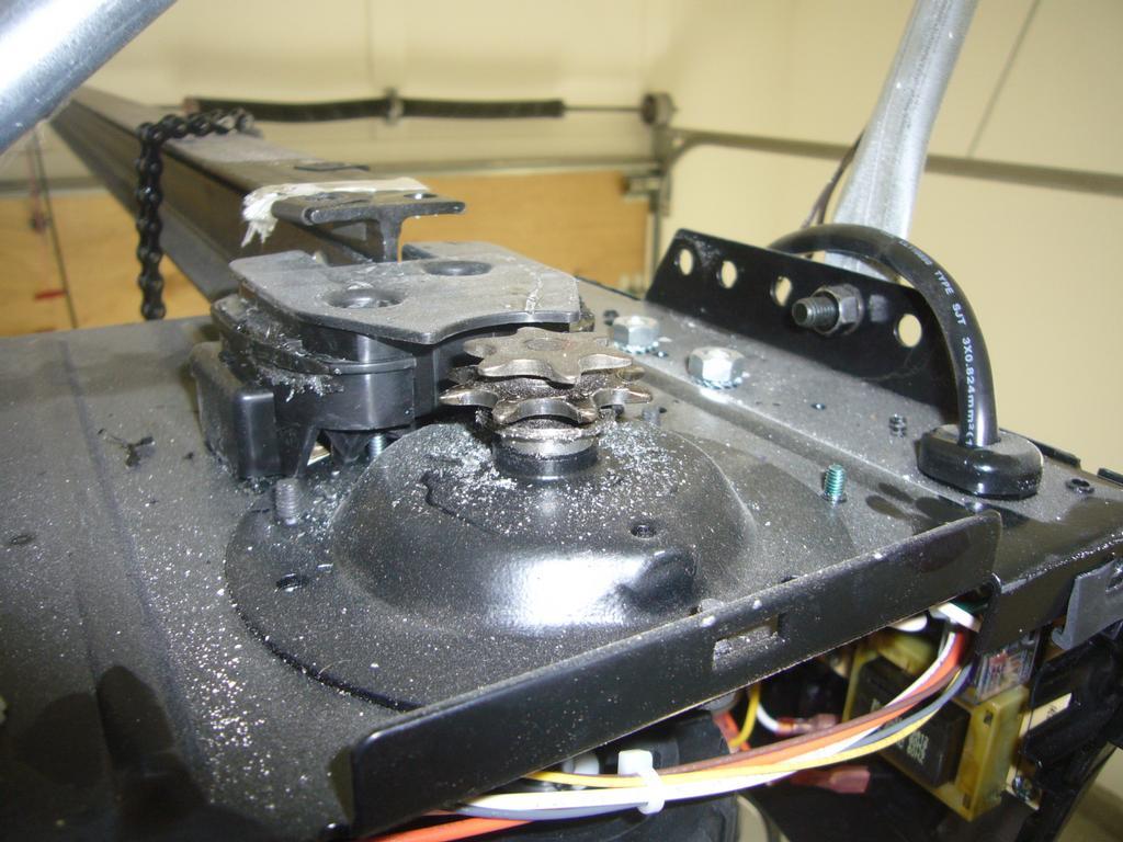 Stripped gear kit on garage door openers from dynamic for Garage door repair agoura hills
