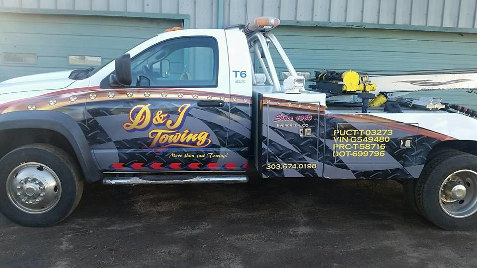 D Amp J Towing Evergreen Co 80439 303 674 0198 Auto Road