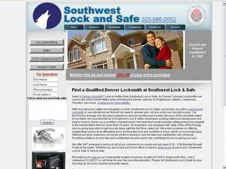 Southwest Lock & Safe - Denver, CO