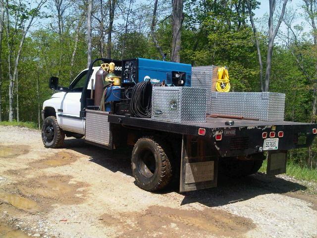 Welding Truck 2 From D K Custom Weld amp Repair In Walton