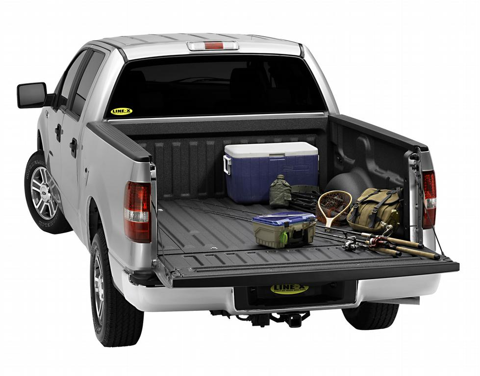 Pictures for line x of columbia bedliners truck for Truck fishing accessories
