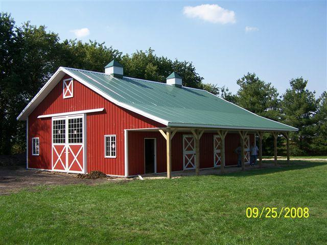 Blitz builders incorporated shelbyville ky 40065 800 for Barn builders show