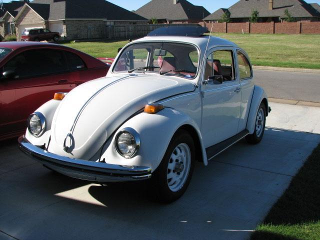 restored volkswagen beetle glass aid  oklahoma city