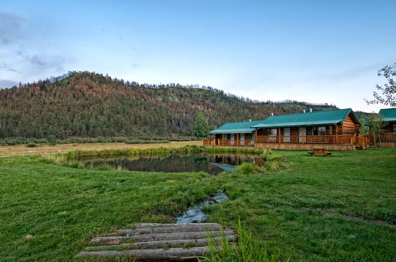 Greer lodge resort cabins greer az 85927 928 225 7620 for Private fishing ponds near me