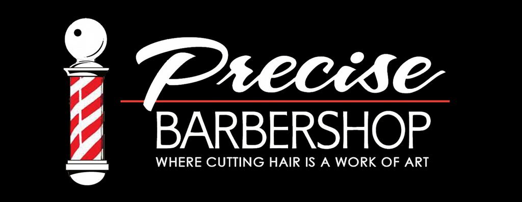 Precise Cuts Barber Shop Long Beach City Logo by Precise Barbershop