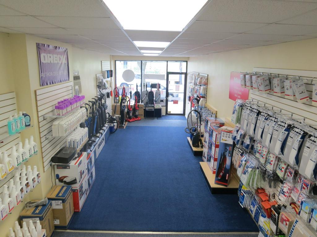 Oreck Miele Electrolux Dyson Hoover Vacuum Store Dealer